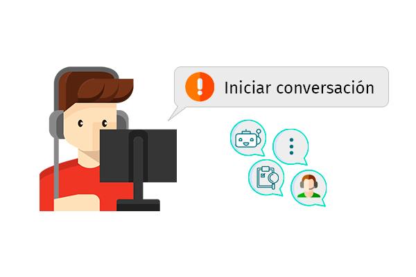 conversaciones activas